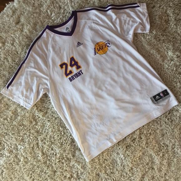 d5916e60d Adidas Other - Adidas Los Angeles Lakers Kobe Shoot Around Shirt